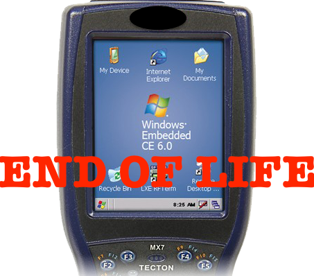 Windows CE – End of Life – Why is Now The Right Time to Take a Look at Your Scan Gun, Not Just Scan Gun but Entire Data Collection Strategy & Tactic?