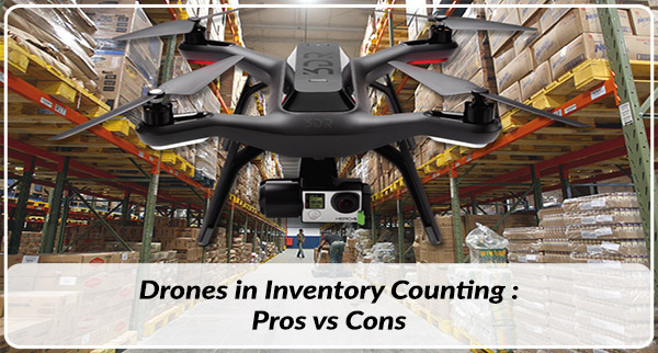 Drones in Distribution: Counting Inventory